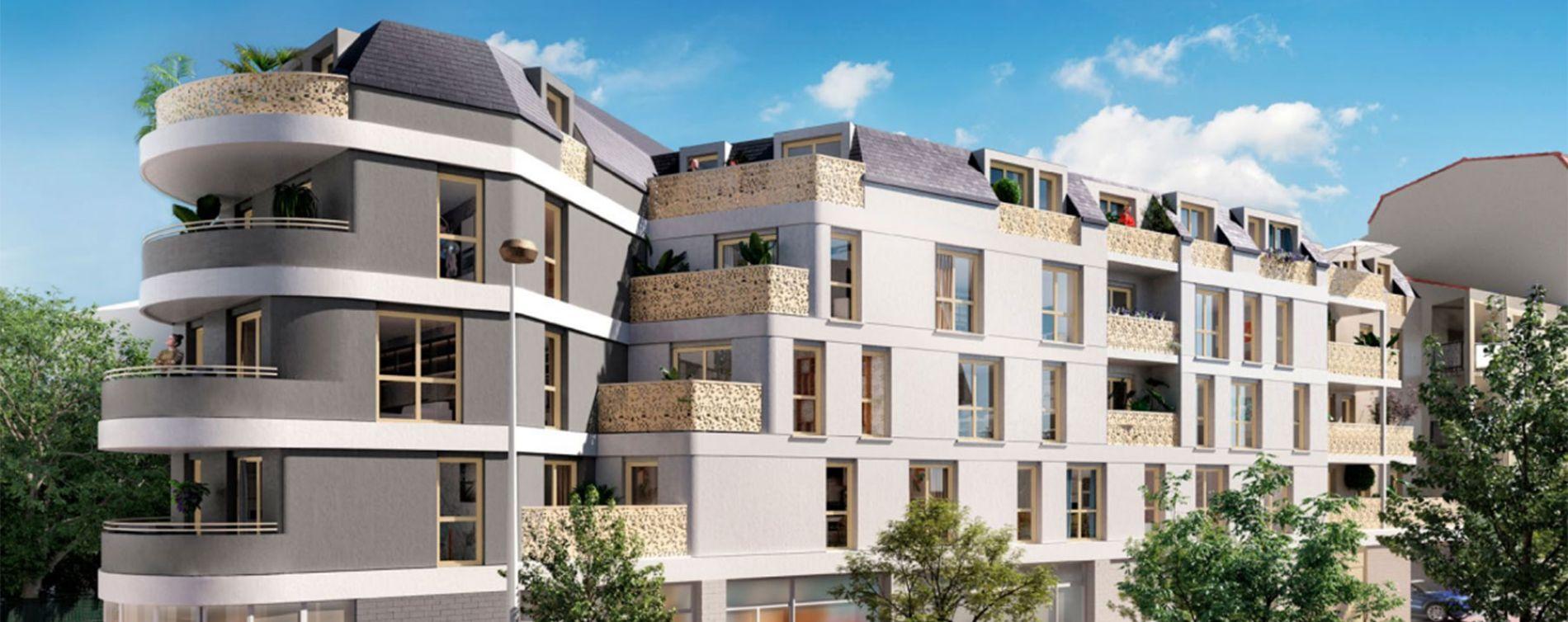 Alfortville : programme immobilier neuve « Amplitude » en Loi Pinel