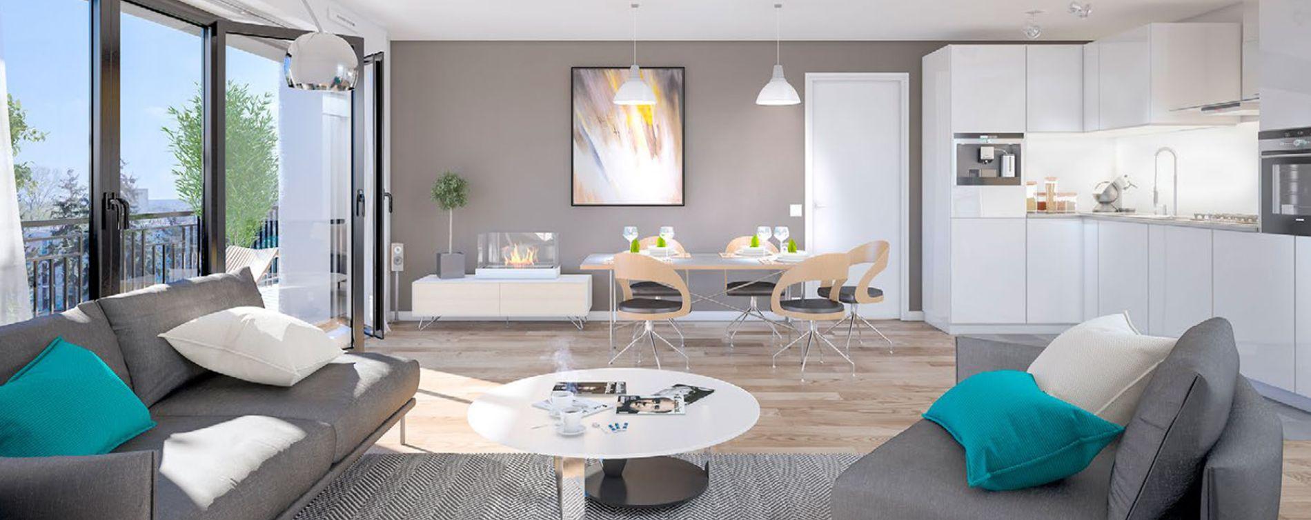 Alfortville : programme immobilier neuve « Amplitude » en Loi Pinel (2)