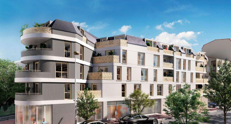 Alfortville : programme immobilier neuf « Amplitude » en Loi Pinel