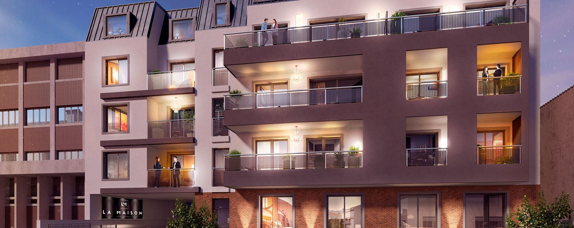 Alfortville : programme immobilier neuve « La Maison »
