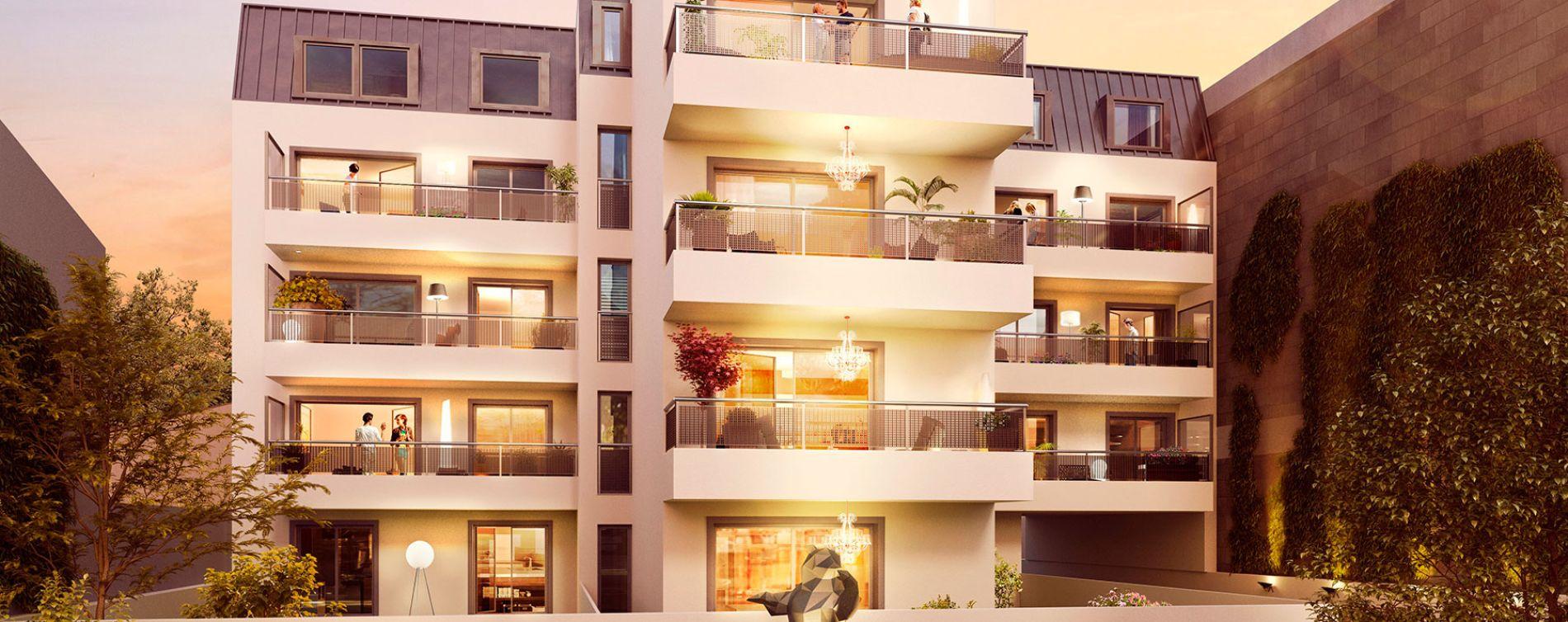Alfortville : programme immobilier neuve « La Maison » (2)