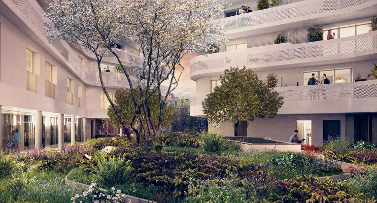 Photo n°5 du Résidence « Les Baignades » programme immobilier neuf en Loi Pinel à Alfortville