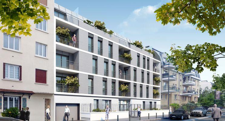 Photo du Résidence « Reflet en Seine » programme immobilier neuf en Loi Pinel à Alfortville