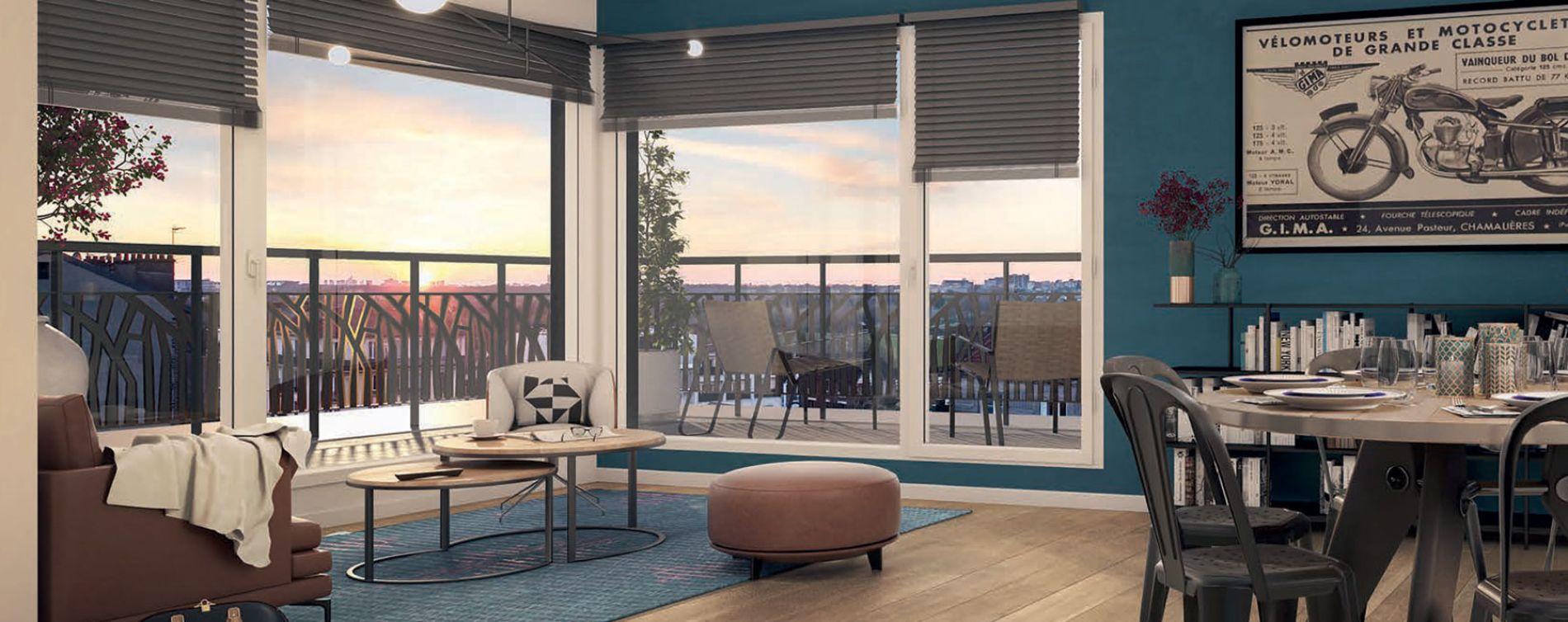 Champigny-sur-Marne : programme immobilier neuve « Programme immobilier n°218282 » (3)