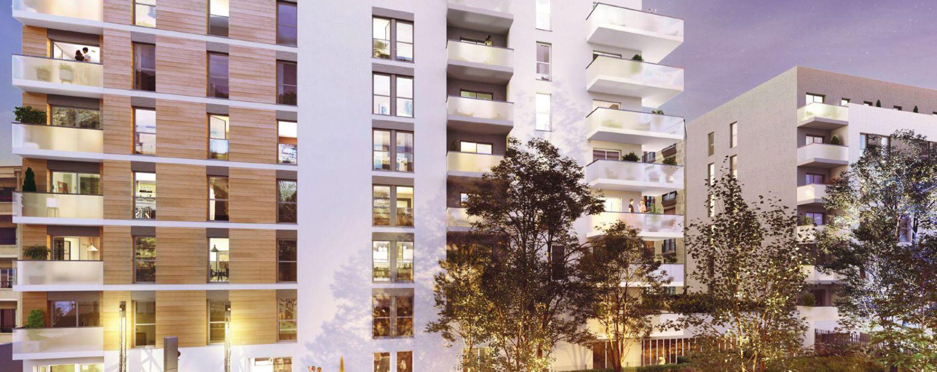 Champigny-sur-Marne : programme immobilier neuve « Ilot Jaurès - Coeur Champigny » en Loi Pinel (2)
