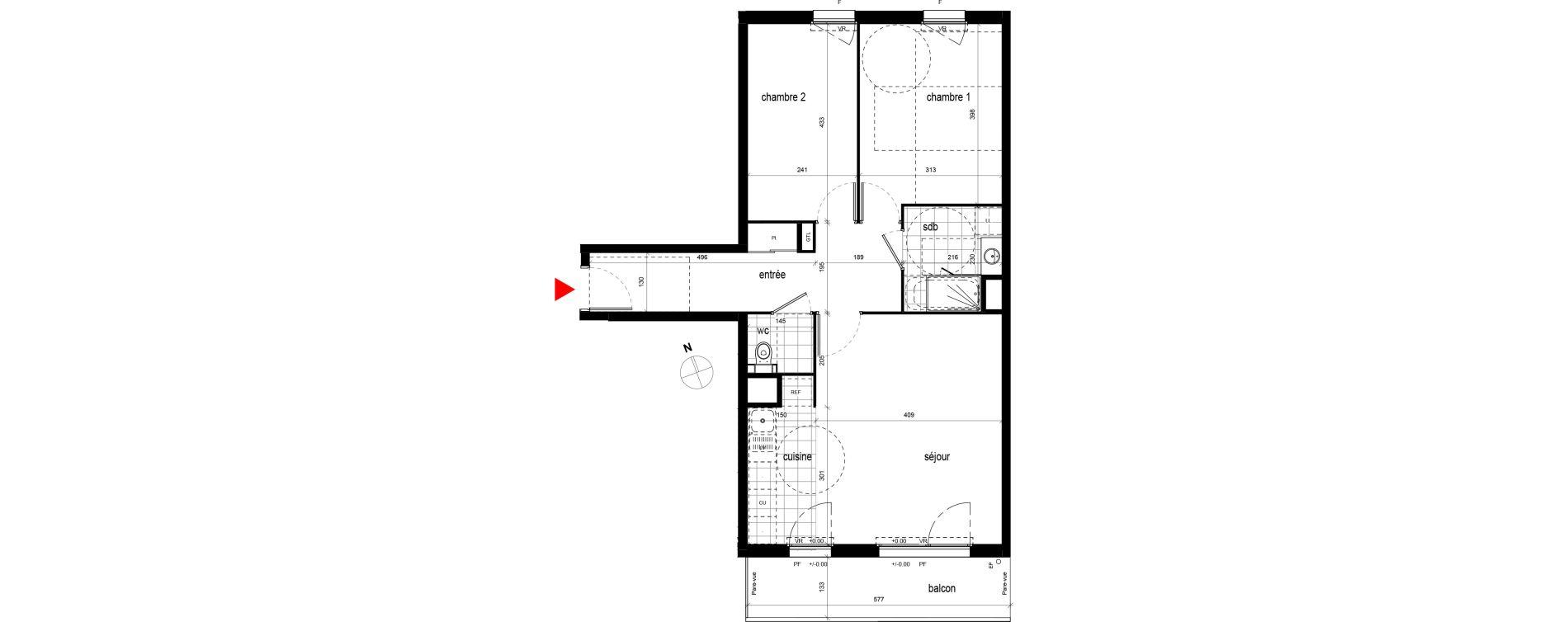 Appartement T3 de 66,23 m2 à Champigny-Sur-Marne Champigny sur marne centre ville