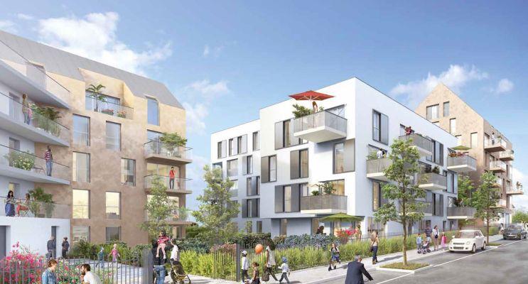 Résidence « Open 7 » programme immobilier neuf en Loi Pinel à Champigny-sur-Marne n°1