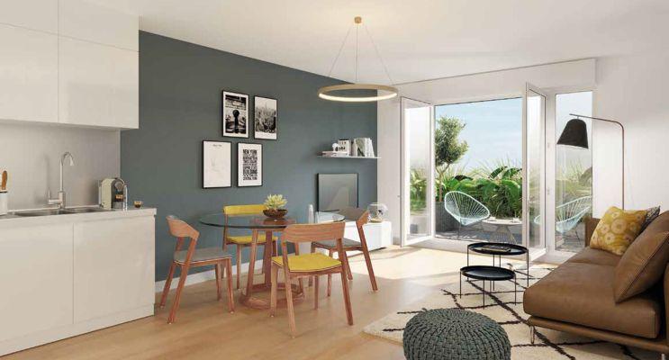 Résidence « Open 7 » programme immobilier neuf en Loi Pinel à Champigny-sur-Marne n°3
