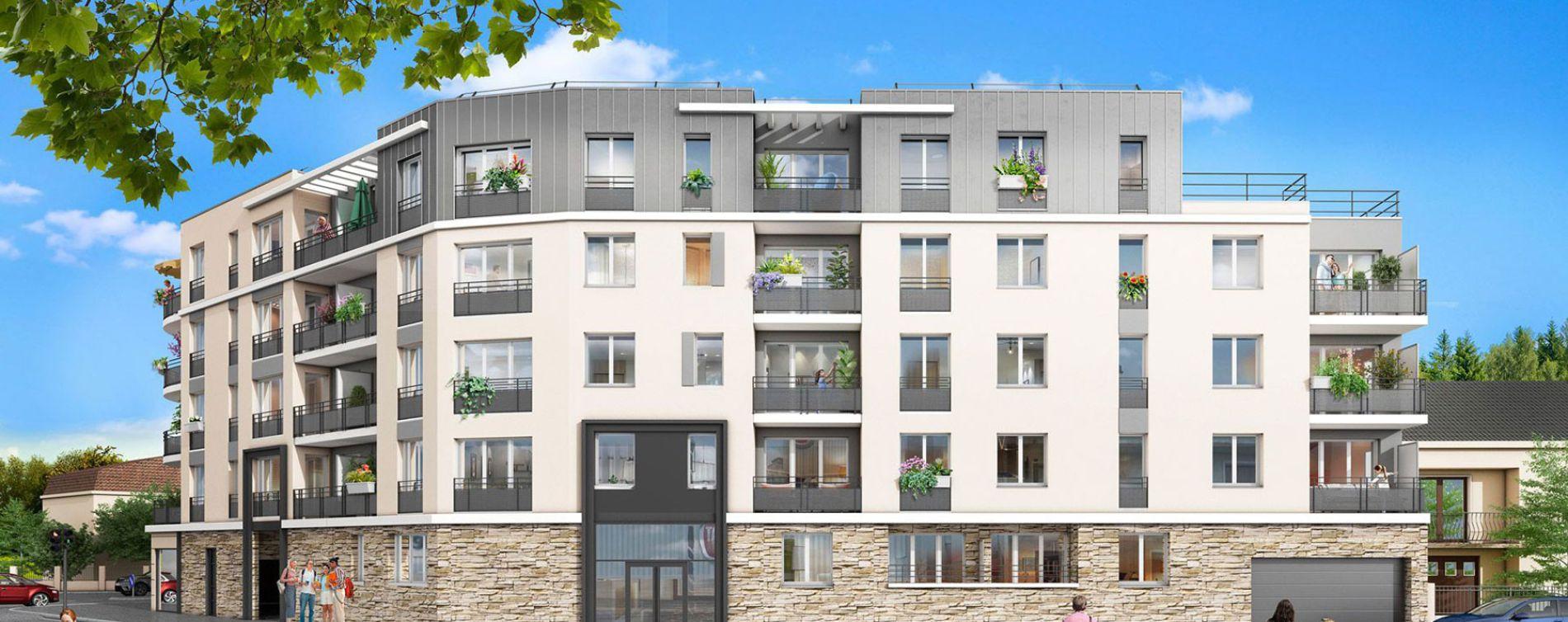 Chennevières-sur-Marne : programme immobilier neuve « 12 Liberty » en Loi Pinel