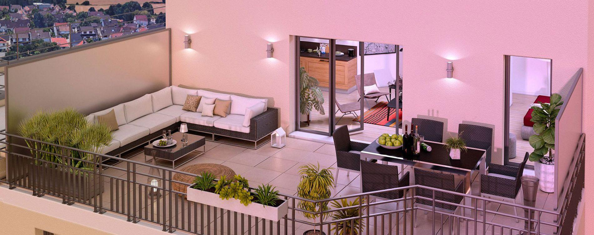 Chennevières-sur-Marne : programme immobilier neuve « 12 Liberty » en Loi Pinel (2)