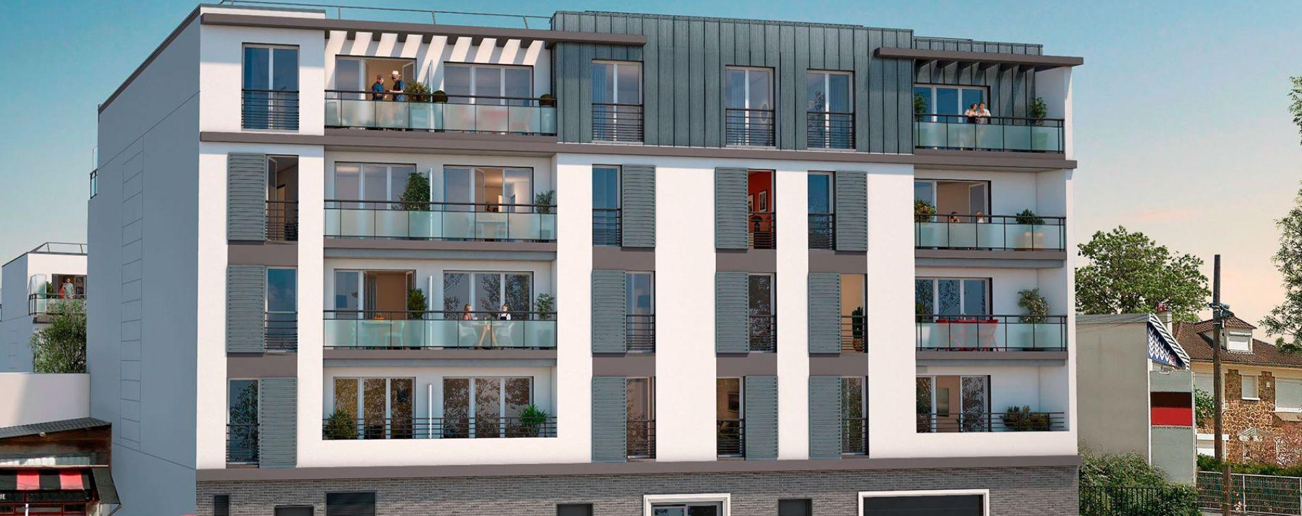 Chennevières-sur-Marne : programme immobilier neuve « Cours Libération » (2)
