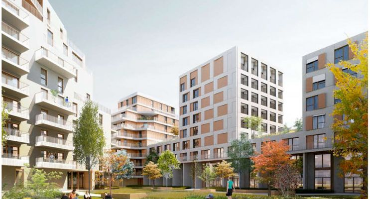 Résidence « Campus Victoria » programme immobilier neuf à Chevilly-Larue n°2