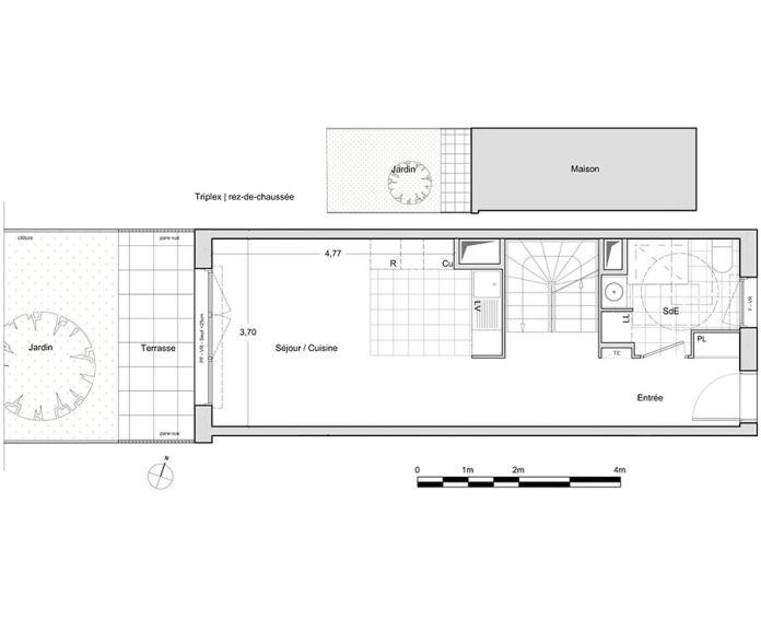 Plan T5 neuf à Chevilly-Larue de