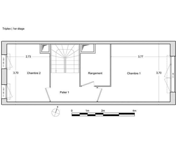 Plan T4 neuf à Chevilly-Larue de