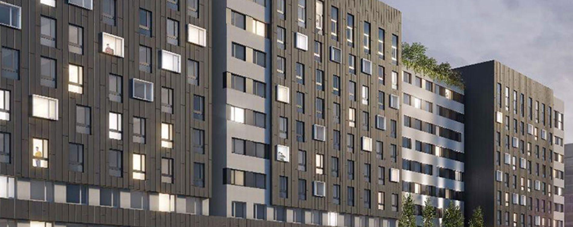 Créteil : programme immobilier neuve « Good Morning Campus Tr2 »