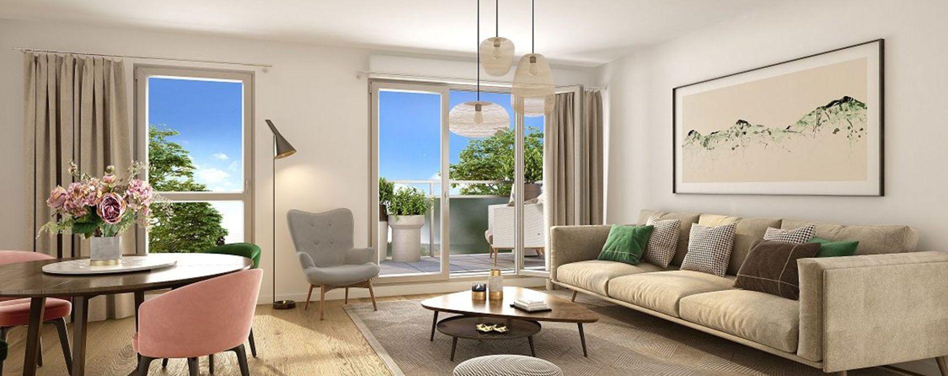 Créteil : programme immobilier neuve « Seasons Créteil » (2)