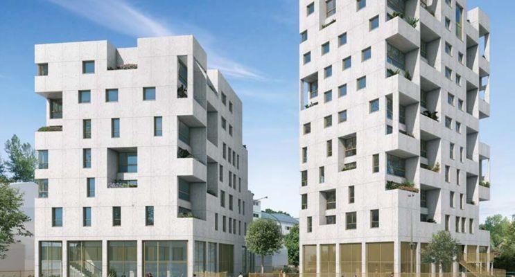 Photo du Résidence «  n°218179 » programme immobilier neuf en Loi Pinel à Ivry-sur-Seine