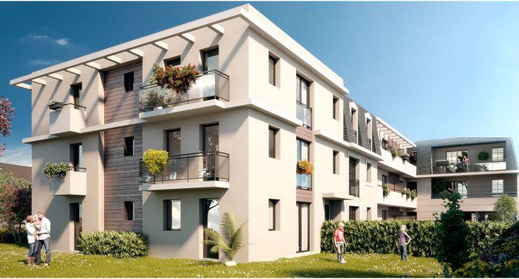 Résidence « L'Ernestine » programme immobilier neuf en Loi Pinel à La Queue-en-Brie n°1