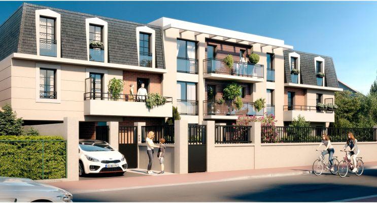 Résidence « L'Ernestine » programme immobilier neuf en Loi Pinel à La Queue-en-Brie n°2