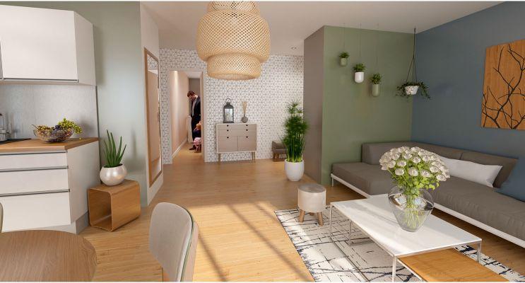 Résidence « L'Ernestine » programme immobilier neuf en Loi Pinel à La Queue-en-Brie n°4