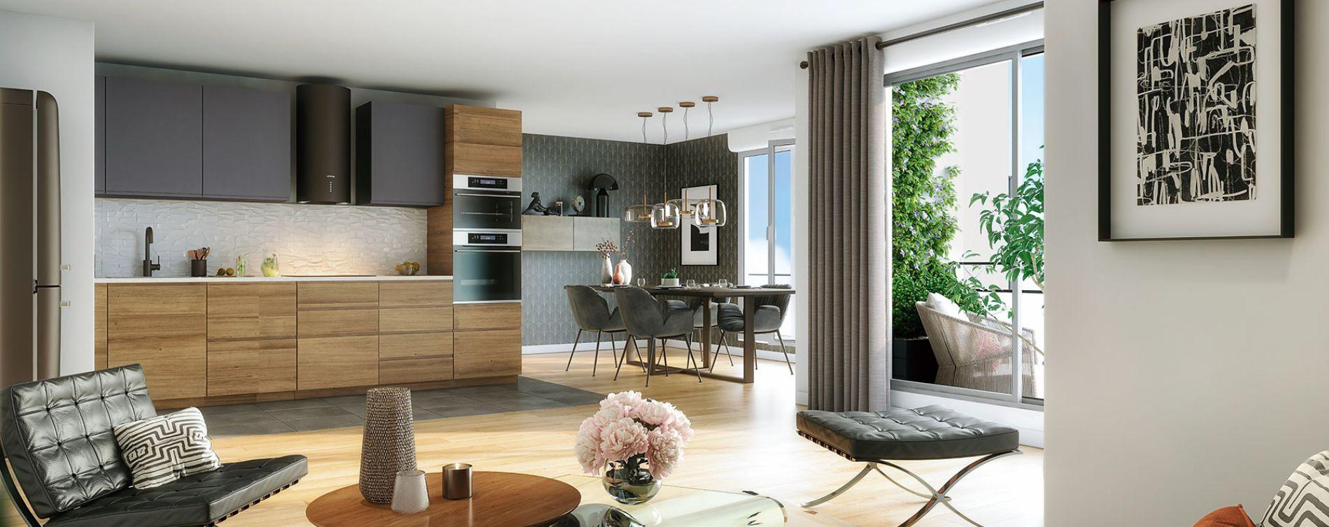 Le Perreux-sur-Marne : programme immobilier neuve « Silver Park » en Loi Pinel