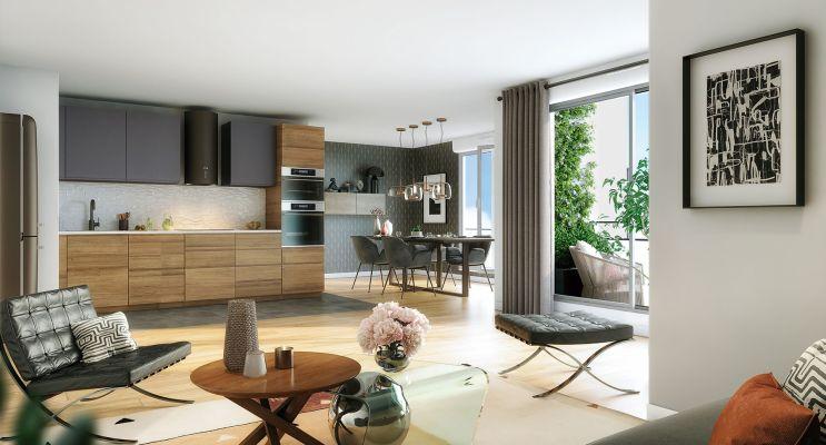 Le Perreux-sur-Marne : programme immobilier neuf « Silver Park » en Loi Pinel