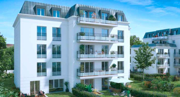 Photo du Résidence « Le Clos Veneto » programme immobilier neuf en Loi Pinel à Le Plessis-Trévise