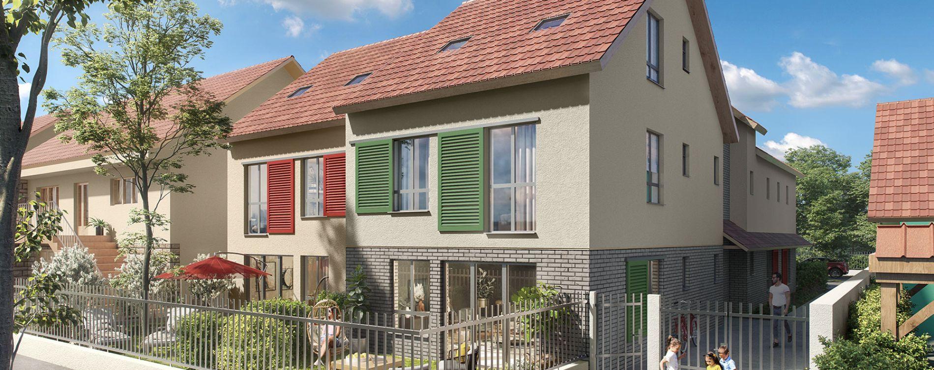 L'Haÿ-les-Roses : programme immobilier neuve « Carré des Roses » en Loi Pinel