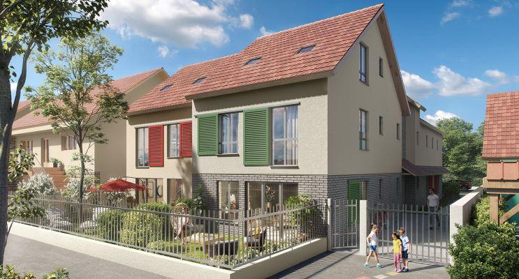 Photo du Résidence « Carré des Roses » programme immobilier neuf en Loi Pinel à L'Haÿ-les-Roses