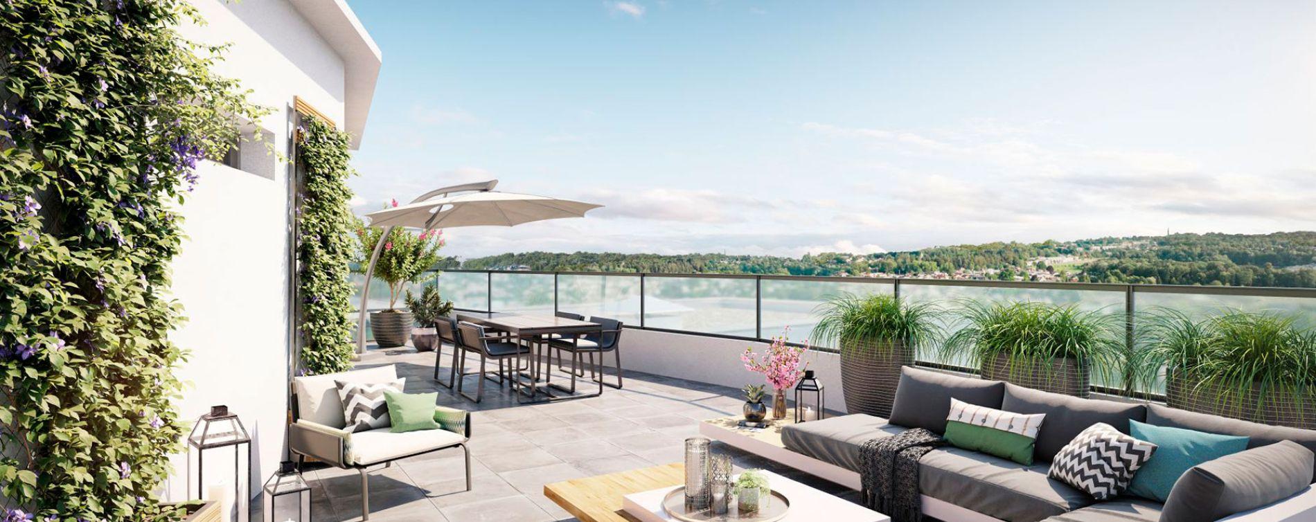 Ormesson-sur-Marne : programme immobilier neuve « Duo Verdé » en Loi Pinel