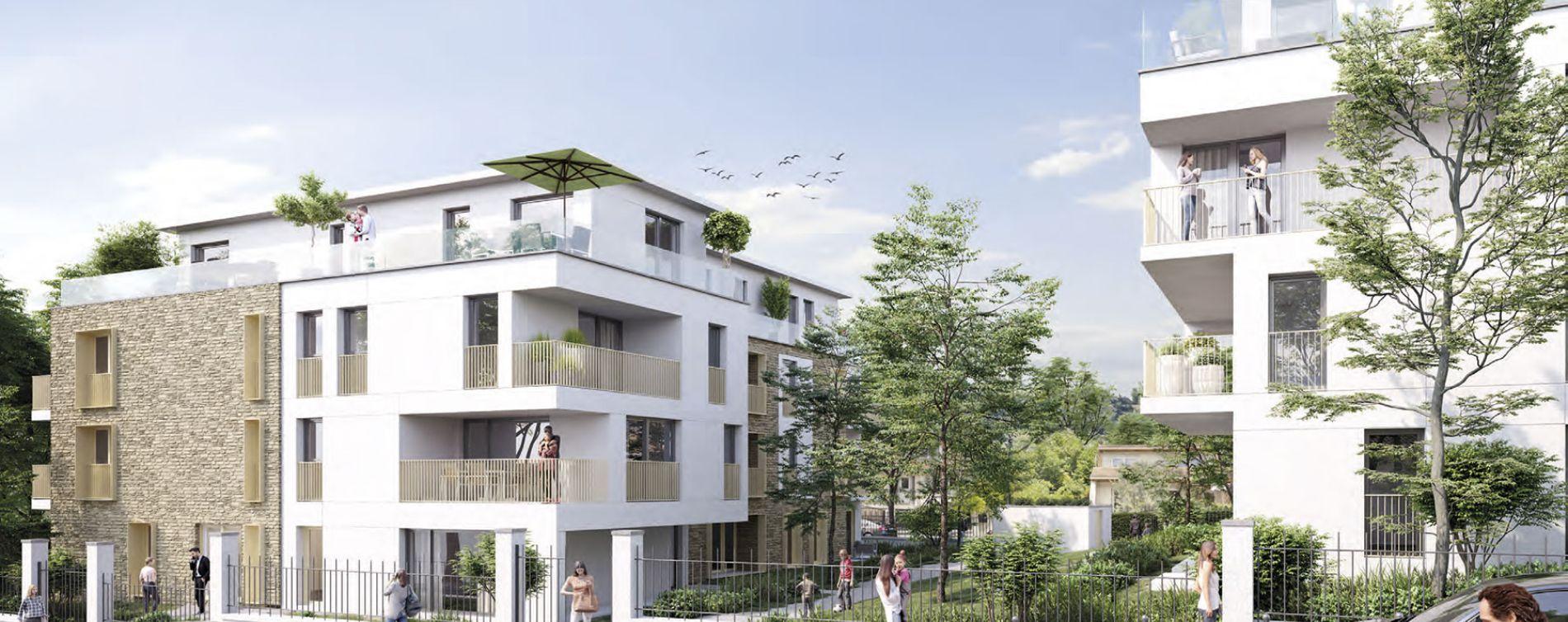 Ormesson-sur-Marne : programme immobilier neuve « Duo Verdé » en Loi Pinel (2)