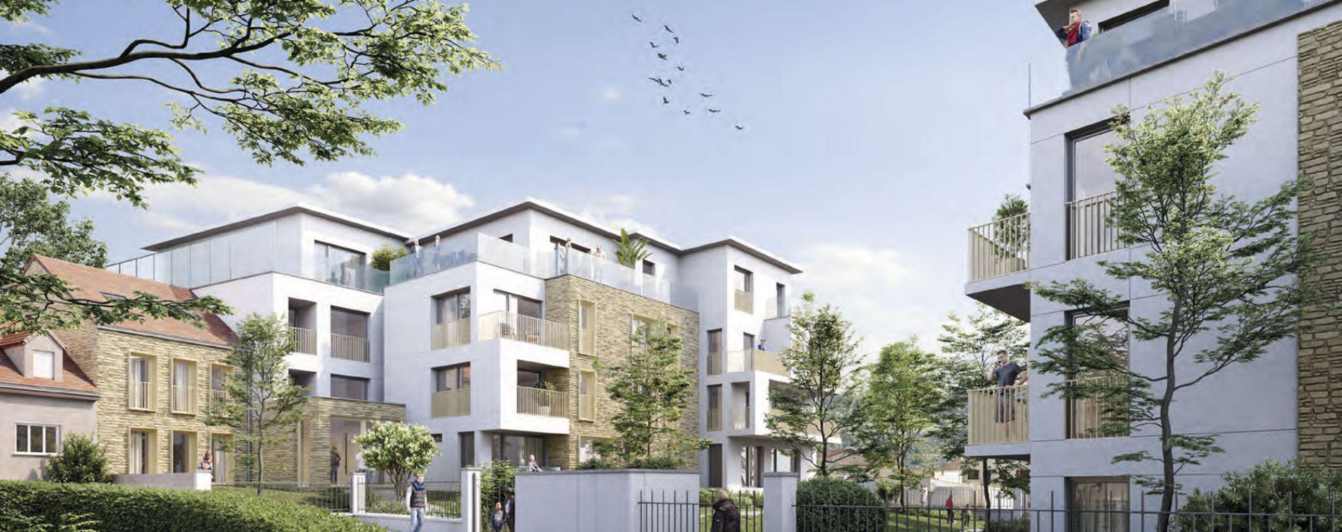 Ormesson-sur-Marne : programme immobilier neuve « Duo Verdé » en Loi Pinel (3)