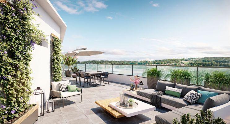 Ormesson-sur-Marne : programme immobilier neuf « Duo Verdé » en Loi Pinel