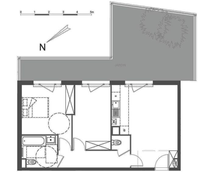 Plan T3 neuf à Ormesson-sur-Marne de