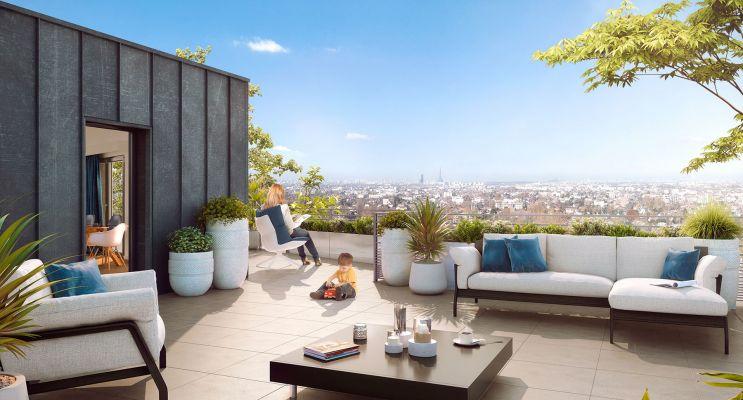 Résidence « Le Bellevue » programme immobilier neuf en Loi Pinel à Ormesson-sur-Marne n°2