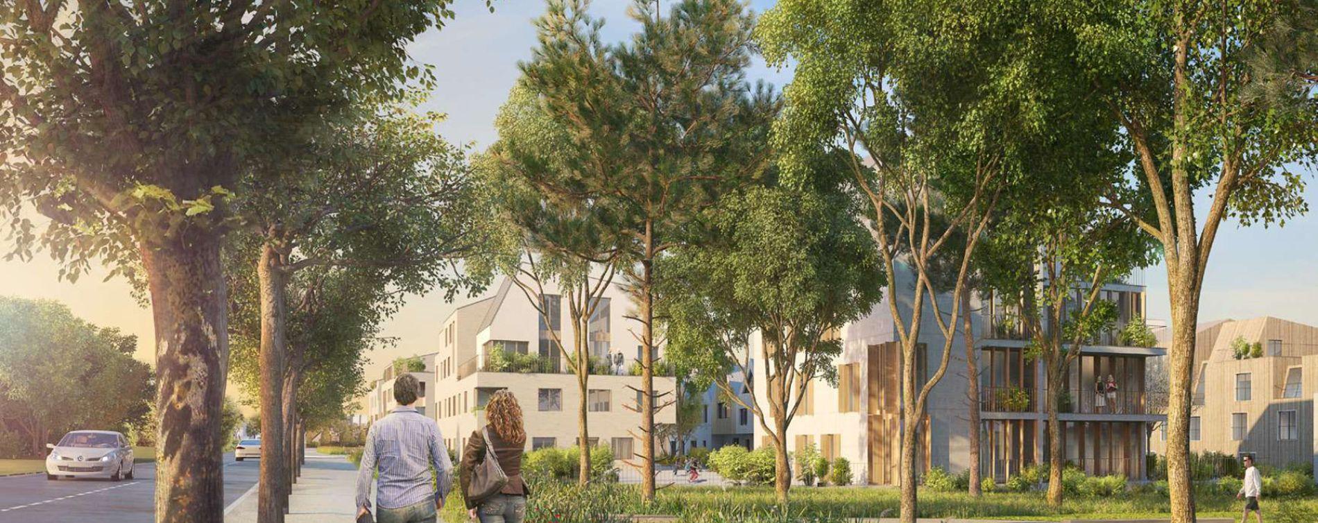 Résidence Les Nouveaux Jardins - Chemin des Fermes à Rungis