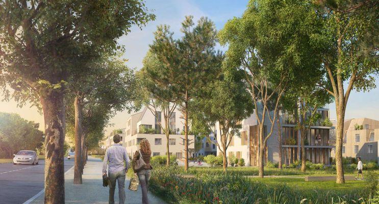 Rungis : programme immobilier neuf « Les Nouveaux Jardins - Chemin des Fermes » en Loi Pinel
