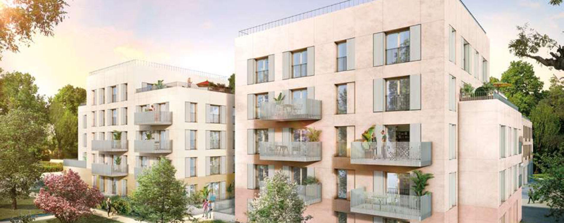 Rungis : programme immobilier neuve « Les Nouveaux Jardins - Maisons et Appartements » en Loi Pinel (2)