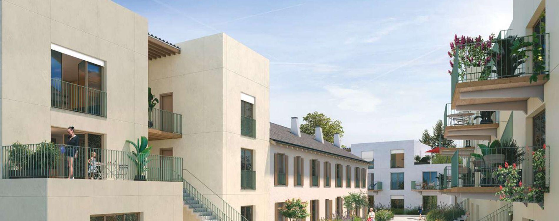 Rungis : programme immobilier neuve « Les Nouveaux Jardins - Maisons et Appartements » en Loi Pinel (4)