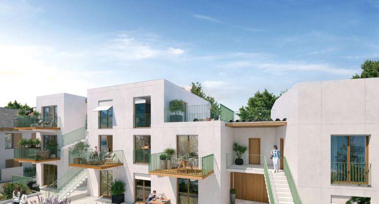 Rungis : programme immobilier neuf « Les Nouveaux Jardins - Maisons et Appartements » en Loi Pinel