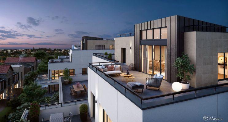 Photo du Résidence « 60 Avenue Didier » programme immobilier neuf en Loi Pinel à Saint-Maur-des-Fossés