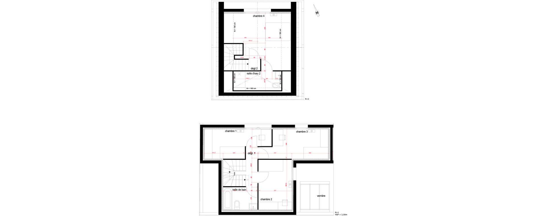 Villa T5 de 119,48 m2 à Saint-Maur-Des-Fossés La varenne saint hilaire