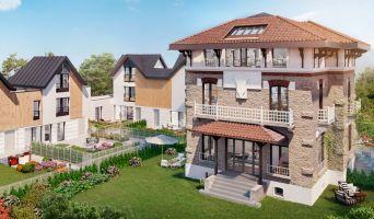 Saint-Maur-des-Fossés : programme immobilier neuf « Domaine Albert 1er - Villas » en Loi Pinel