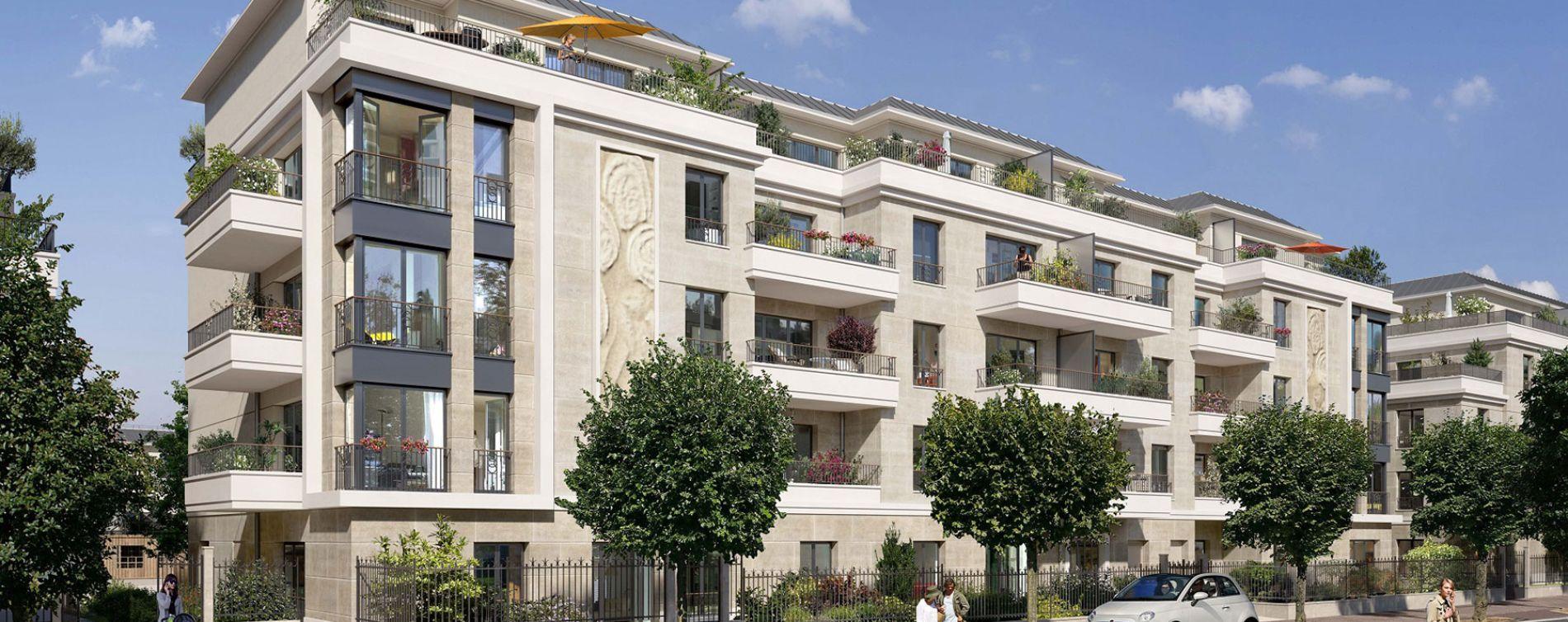 Saint-Maur-des-Fossés : programme immobilier neuve « Le Domaine de Condé » en Loi Pinel