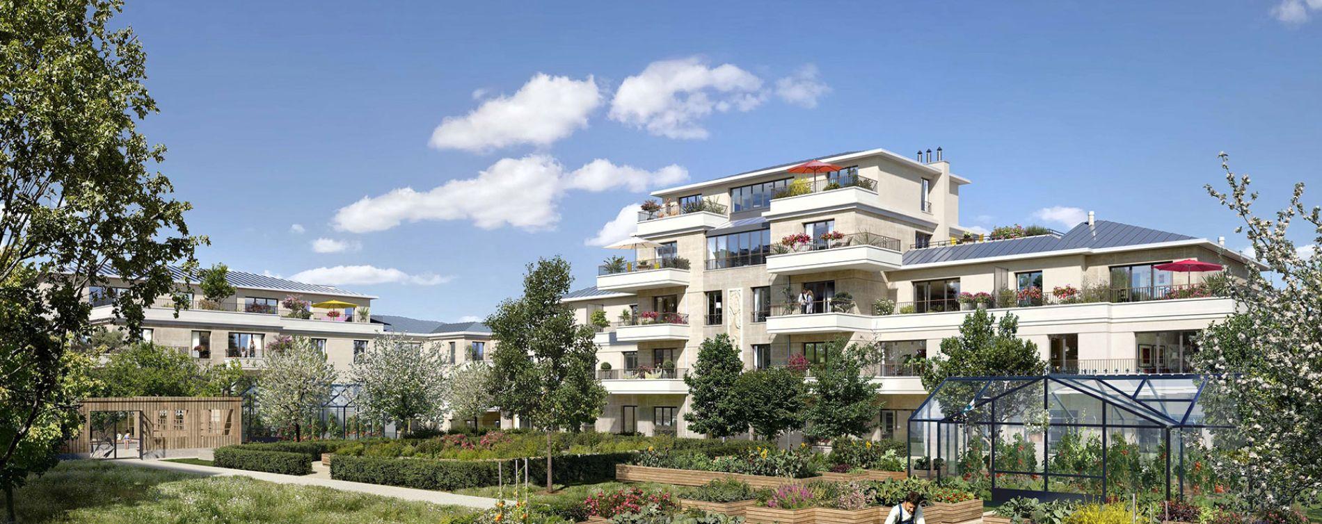 Saint-Maur-des-Fossés : programme immobilier neuve « Le Domaine de Condé » en Loi Pinel (2)