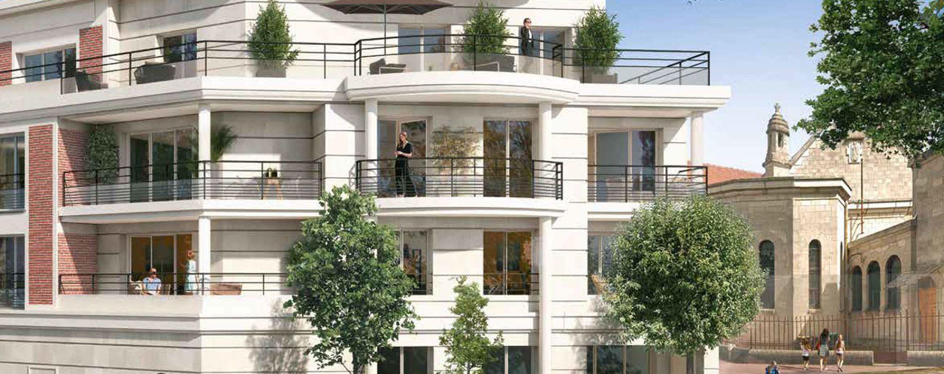 Saint-Maur-des-Fossés : programme immobilier neuve « Square Kennedy » en Loi Pinel