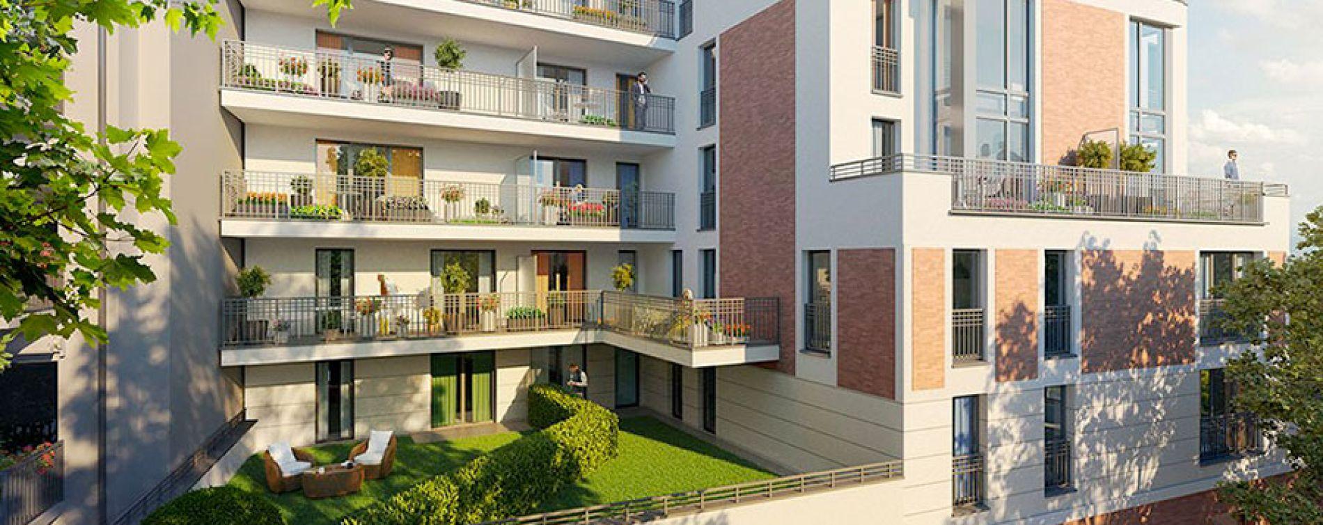 Saint-Maurice : programme immobilier neuve « Panoramiq' » (3)