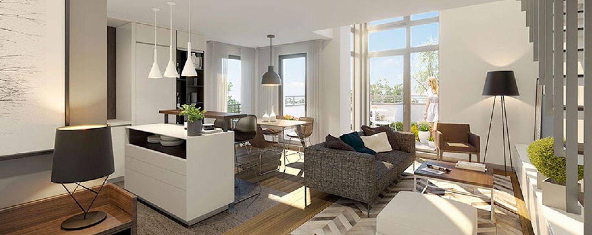 Saint-Maurice : programme immobilier neuve « Panoramiq' » (5)