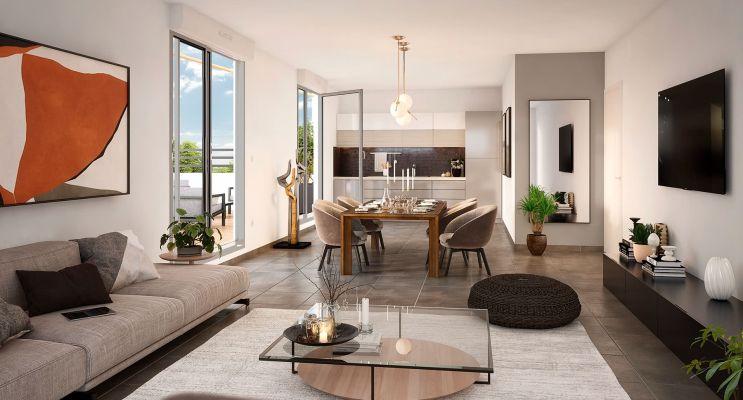 Résidence « Résidence Du Grand Val » programme immobilier neuf en Loi Pinel à Sucy-en-Brie n°3