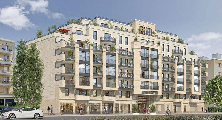 Thiais programme immobilier neuf « Beaux Accords 2 » en Loi Pinel